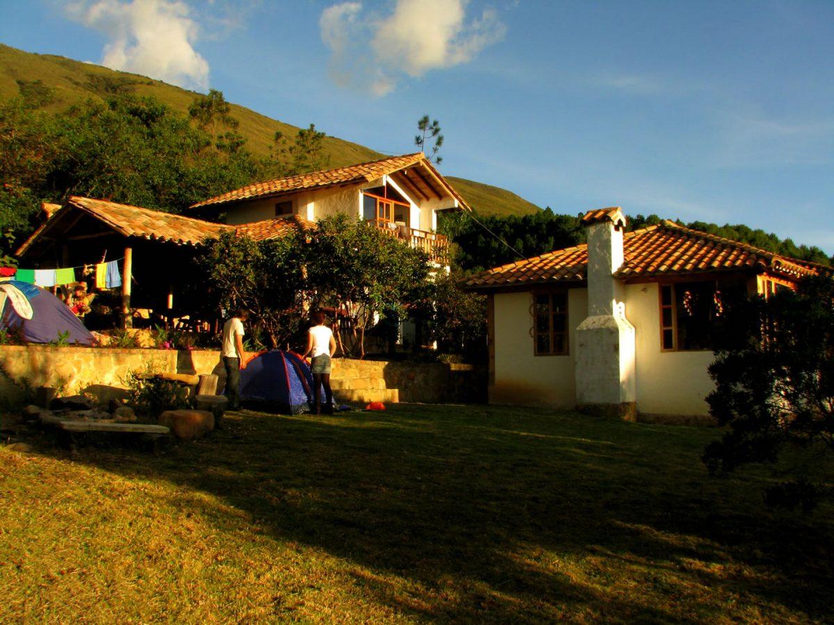 1. Camping at Renacer Hostel, Villa de Leyva