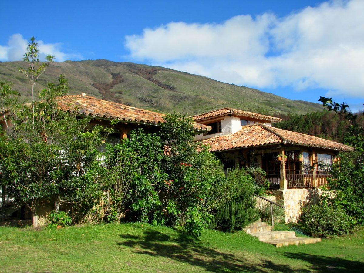 4. Main Colonial house, Renacer Hostel, Villa de Leyva